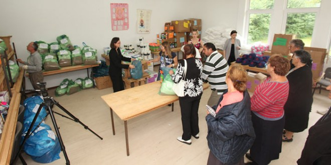 Princess Katherine Foundation provides humanitarian aid for people in Obrenovac and Poljane