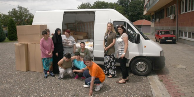 Crown Princess Katherine Foundation delivers humanitarian aid to Monastery St. Petka in Izvor near Paracin