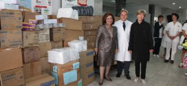 Princess Katherine delivers humanitarian aid to KBC Zemun and victims of floods in Obrenovac