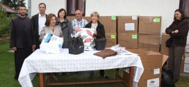 Princess Katherine delivers humanitarian aid to flood victims in Krupanj Municipality
