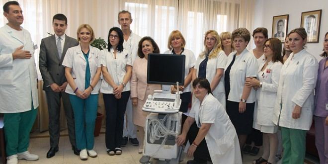 Crown Princess Katherine delivers ultrasoundto National Front Hospital