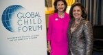 HM Queen Silvia of Sweden and HRH Crown Princess Katherine