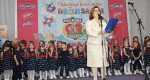 Crown Princess Katherine at the opening of the Kids' Fair in Belgrade