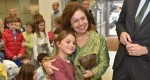 "Crown Princess Katherine at the ""Children's magic"" theatre performance"