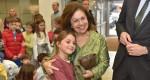 "Crown Princess Katherine at the ""Children's magic"" theatre performance"