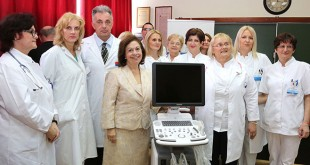 Donation of HRH Crown Princes Katherine to the Institute for Health Protection of Children and Youth of Vojvodina