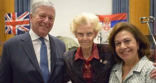 HRH Crown Prince Alexander, Dr. Elaine Laycock, HRH Crown Princess Katherine