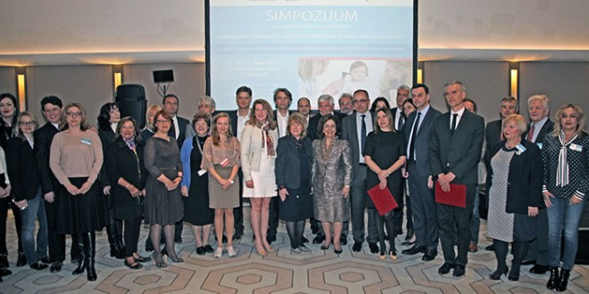 """Participants of the symposium """"Current trends in the treatment and rehabilitation of hearing loss and deafness"""""""