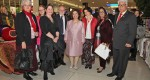 HRH Crown Princess Katherine with the invitees at the opening of the Easter Bazaar