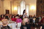 Opera singer Jadranka Jovanovic performs at the traditional Ladies' Lunch