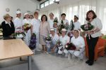 HRH Princess Katherine delivered presents to the users of the Gerontology Center in Belgrade