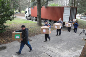 CHRISTMAS GIFTS FOR MORE THAN 1000 CHILDREN IN SERBIA AND REPUBLIKA SRPSKA ARRIVED FROM LIFELINE CHICAGO