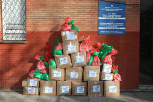 HRH CROWN PRINCESS KATHERINE'S FOUNDATION BEGINS DISTRIBUTION OF CHRISTMAS PRESENTS FOR THE CHILDREN