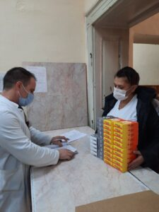 Donation for Covid Hospital in Kragujevac