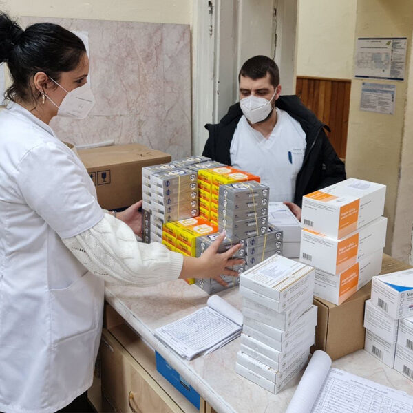 CONTINUATION OF HELP FOR COVID HOSPITAL IN KRAGUJEVAC