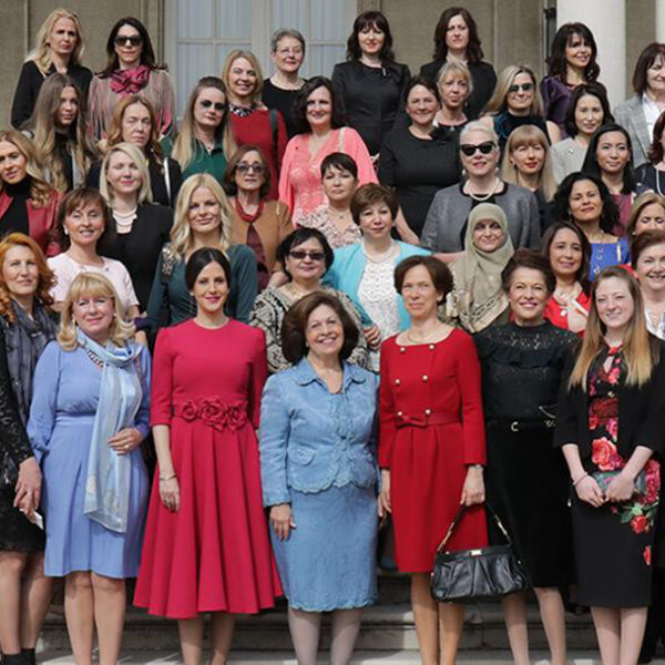 HRH CROWN PRINCESS KATHERINE CONGRATULATIONS FOR WOMAN'S DAY