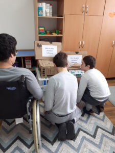 Donation of computers and printers for children at schools and orphanages