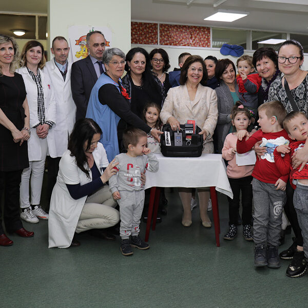 Donation of a hearing screening device to the Clinical Center, 2019