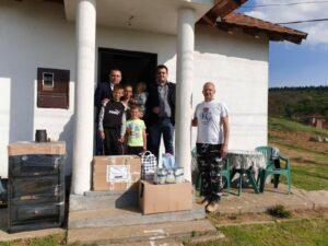 Donacija za porodicu u Ranilugu