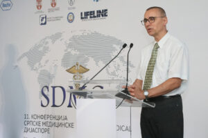 Director of the WHO office in Serbia dr. Marijan Ivanusa