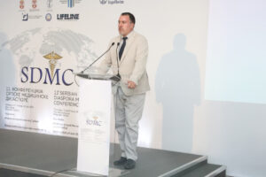 Director of Serbian Medical Chamber dr. Milan Dinic