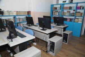 A new computer room in Drinka Pavlovic Orphanage