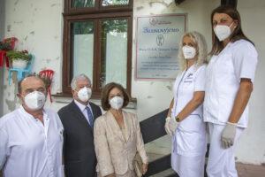 Projekat je realizovan zahvaljujući gđ. Anki Erne i Fondaciji Princeze Katarine