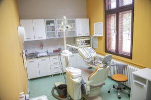 New equipment in Children's dental clinic