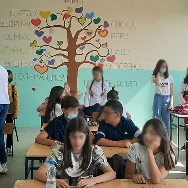 CROWN PRINCESS KATHERINE FOUNDATION RENOVATES KOSOVO SCHOOL