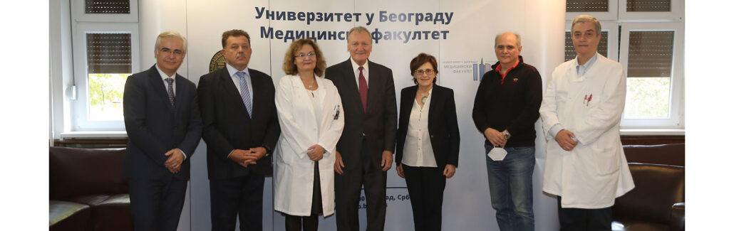 CROWN PRINCESS KATHERINE ORGANIZES SERBIAN DOCTORS MEETINGS WITH DR JEFFREY RICH